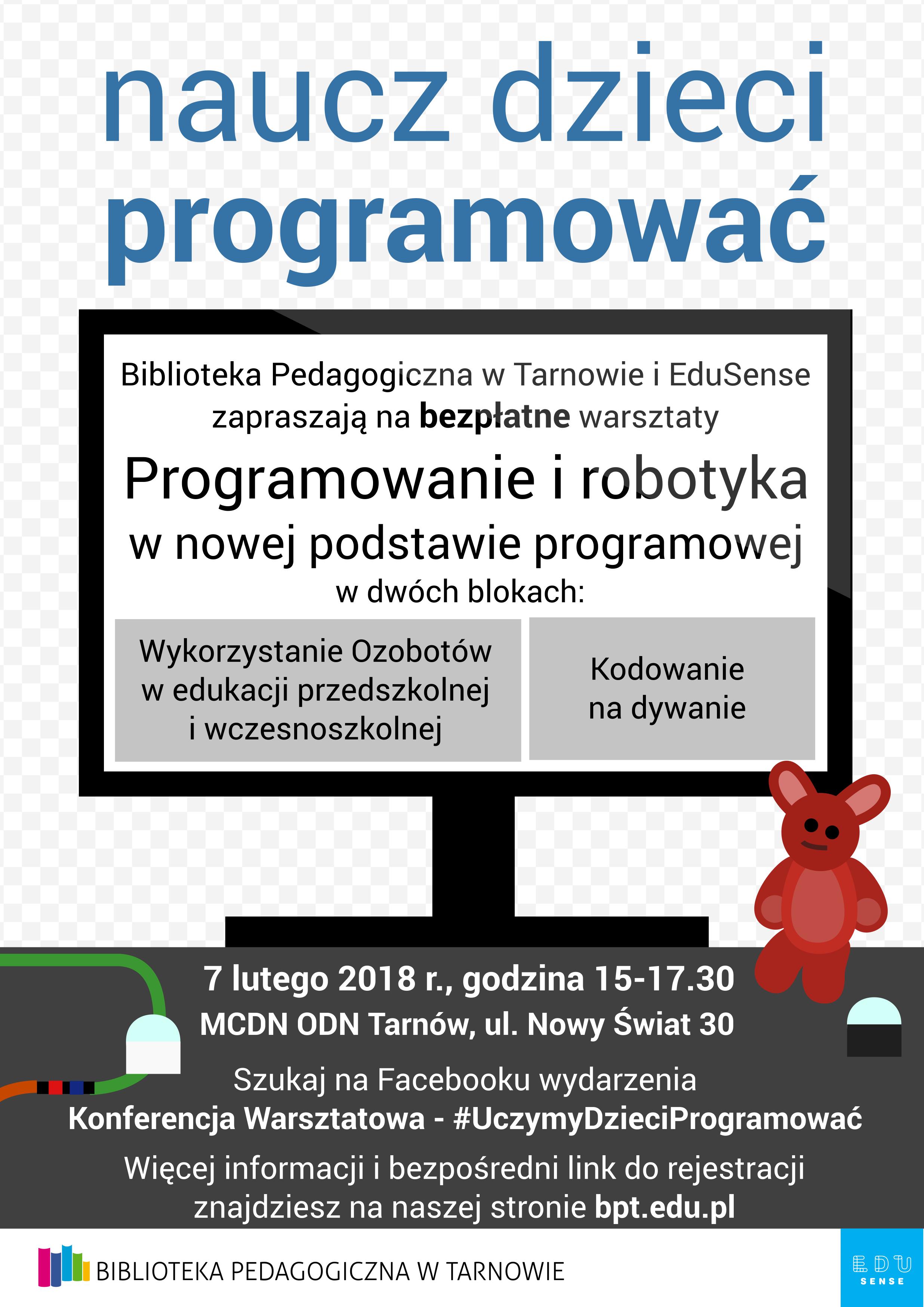 Konferencja Warsztatowa Uczymy Dzieci Programować